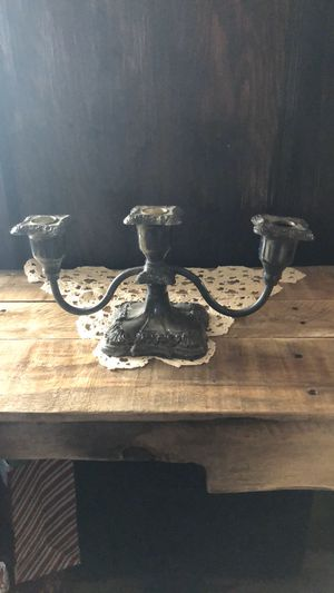Antique silver candelabra for Sale in Rocky Point, NY