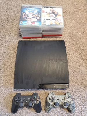 PS3 PlayStation 3 with 2 controller and lots of games for Sale in FSTRVL TRVOSE, PA
