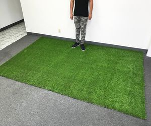 (NEW) $95 Synthetic 10'x6.6' ft Landscape Fake Grass Mat Artificial Pet Turf Lawn Garden Yard for Sale in El Monte, CA