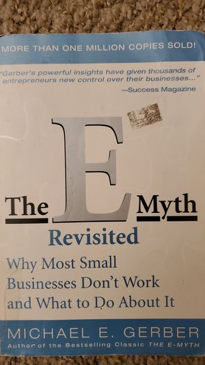 The E Myth Revisited by Michael Gerber for Sale in Corona, CA