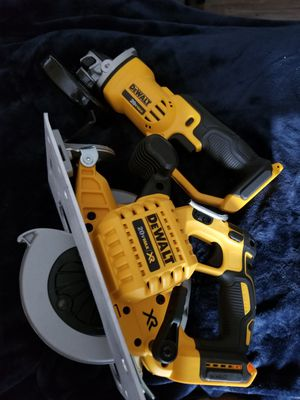 Dewalt cordless drill and cordless saw for Sale in Placentia, CA