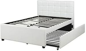 New White Full/twin Trundle bed for Sale in Austin, TX