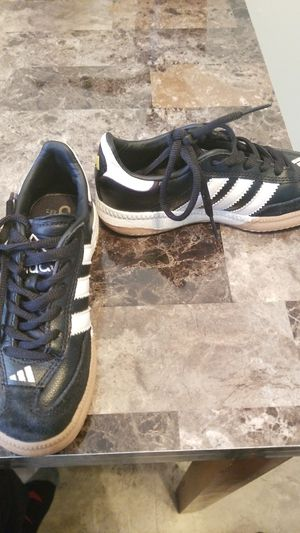 Kids Size; Black Carter's Open foot size 11, Carter's Snow Boots size 10, Adidas Shell Top Metallic Superstars size 10, Adidas Samba size 10 1/2 for Sale in Clementon, NJ