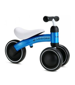 Baby Balance Bike - BLUE Mini Kids Starter First Bicycle No Pedals for 6-24 Months Toddler Toys Gift Training Riding for Sale in Riverside, CA