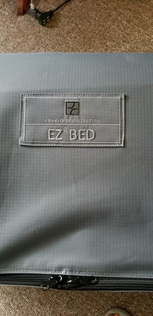 Ez up air mattress on frame for Sale in Ulster Park, NY