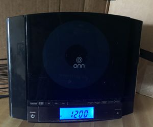 Tested and confirmed working great Onn Mini Stero System Ona 12av024 CD player only for Sale in Lanham, MD