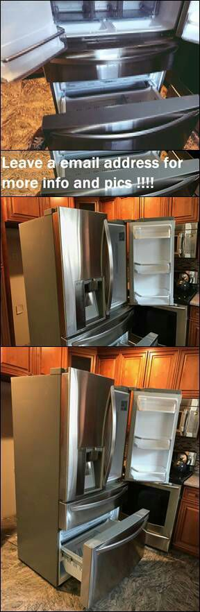 Leαve y0ur e-mαil for more info: LG French Door Refrigerator for Sale in Casper, WY
