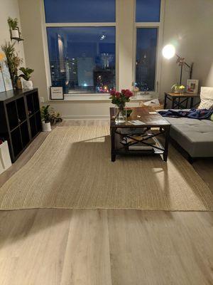 "6'8"" x 9' Wayfair Handmade Flatweave Jute Tan Area Rug for Sale in Washington, DC"