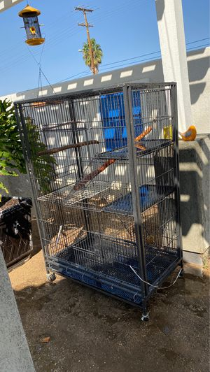 56in high x 37in wide bird cage good condition for Sale in Moreno Valley, CA