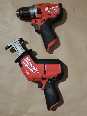 MILWAUKEE M12 FUEL HACKSAW & HAMMER DRILL for Sale in Greenville, SC