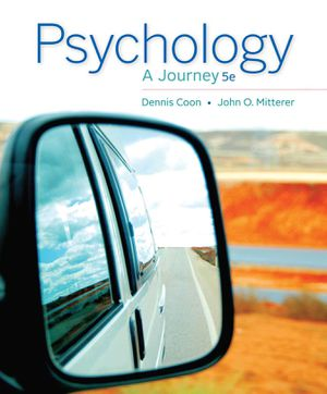 Psychology A Journey 5e (5th Edition) by Dennis Coon, John O. Mitterer 9781133957829 eBook PDF fast & FREE delivery for Sale in San Bernardino, CA