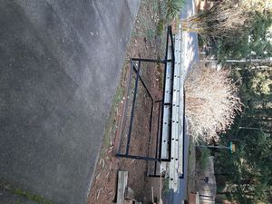 SWB ladder rack with two ladders. 325 dollars for Sale in Hillsboro, OR