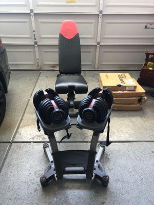 Bowflex Weights & Bowflex Bench for Sale in Lathrop, CA