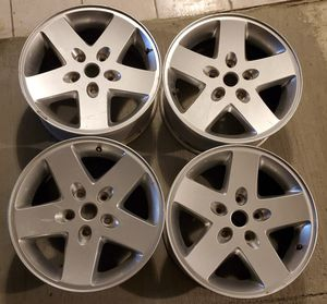 "07-14 JEEP WRANGLER 17"" ALUMINUM ALLOY WHEELS 5x127 for Sale in San Jose, CA"