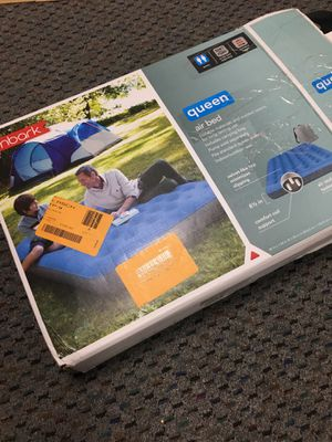 Queen air mattress, used once for Sale in Livermore, CA