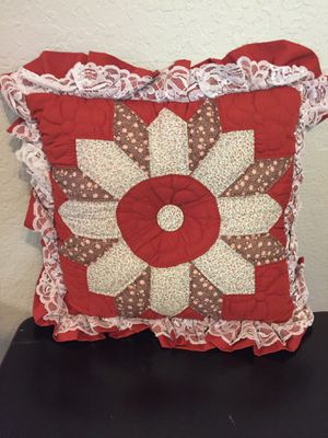 Hand Quilted Pillows for Sale in El Cajon, CA
