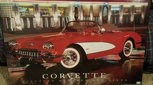 Corvette wall picture for Sale in Galloway, OH