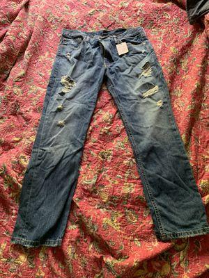 Men's Levis 511 distressed jeans 38x30 for Sale in Austin, TX