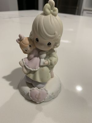 Precious Moments girl with doll- age 4 for Sale in Troy, MI