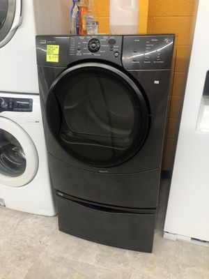 Kenmore front load electric dryer with pedestal in perfect condition for Sale in Laurel, MD