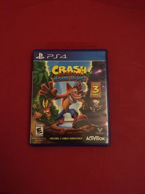 PS4 crash bandicoot n'sane trilogy game for Sale in Terrell, TX