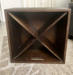 Pottery Barn Wine Storage Cube for Sale in Slingerlands, NY