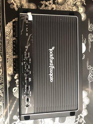 RockfordFosgate 250 watt 4 channel amplifier for Sale in Seattle, WA