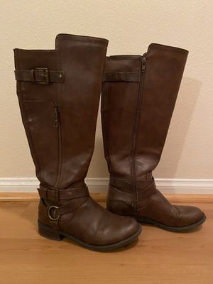 Knee boots (riding boots) for Sale in Los Angeles, CA