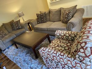6 Piece Living Room Set for Sale in Charlotte, NC