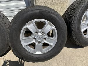 Toyota Tundra Sequoia TRD factory alloy wheels rims tires rines for Sale in Culver City, CA