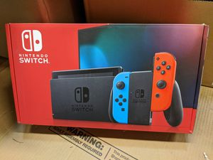 Brand new Nintendo Switch V2 Red Blue for Sale in Laurel, MD