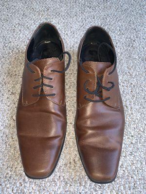 Mens Learher Calvin Klein Size 12 Brodie Oxford Shoe for Sale in Alexandria, VA