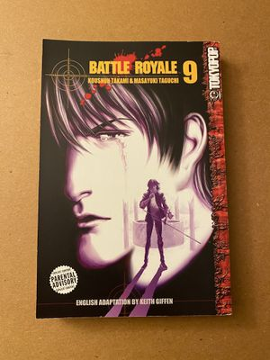 Battle royale manga volume 9 for Sale in Lakewood Township, NJ