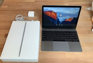 MacBook 12in — Super thin, super light! Excellent condition, original owner, box for Sale in Odenton, MD
