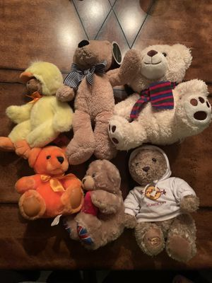 Various Stuffed Teddy Bears for Sale in Federal Way, WA