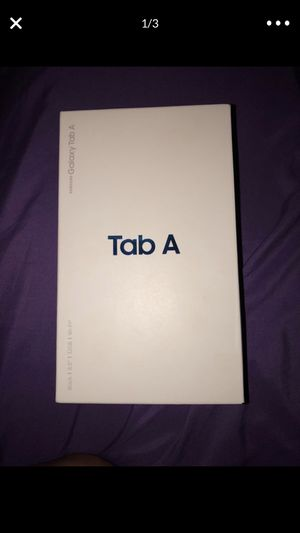 Samsung tablet A for Sale in Troutdale, OR