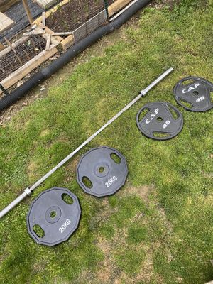 Olympic Weights and Barbell for Sale in Rockville, MD