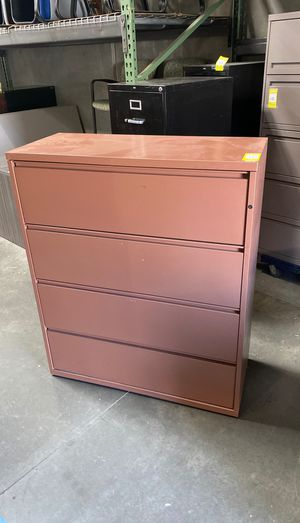 "Blowout. Meridian 4 drawer 42"" wide lateral file cabinet for Sale in Wildomar, CA"