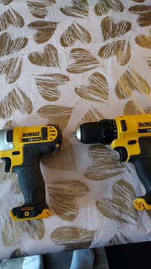Dewalt drill and impack drill 12v for Sale in Federal Way, WA