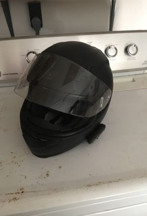 SS Bluetooth helmet with com system and microphone for Sale in Clearwater, FL