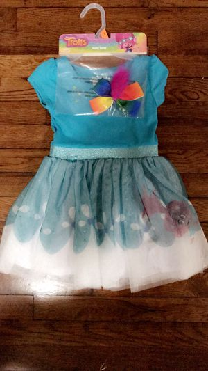 New Trolls Poopy Dress W/ Hair Bow for Sale in San Antonio, TX