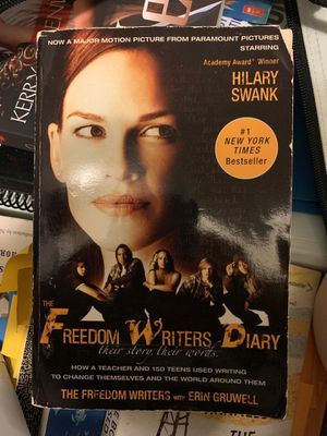 Freedom writers, great book for teens for Sale in Charlotte, NC