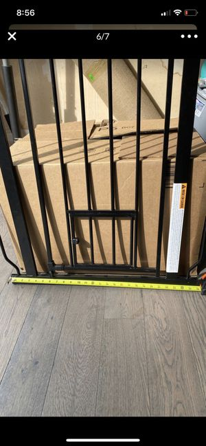 Carlson Pet Gate and 1 Extension for Sale in Kirkland, WA