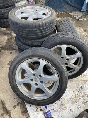 03 infinity g35 4 rims and tires for Sale in Silver Spring, MD