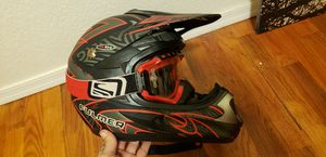 Fulmer helmet and Scott goggles for Sale in Payson, AZ