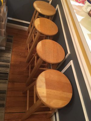 4 bar stools for Sale in Annandale, VA