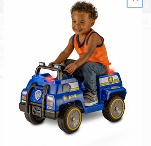 Paw patrol police cruiser truck electric ride on power wheels for Sale in Compton, CA