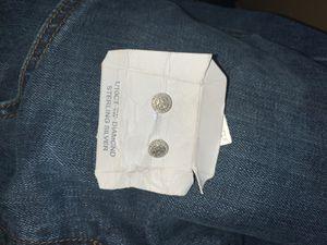 Sterling silver diamond earrings for Sale in Portland, OR