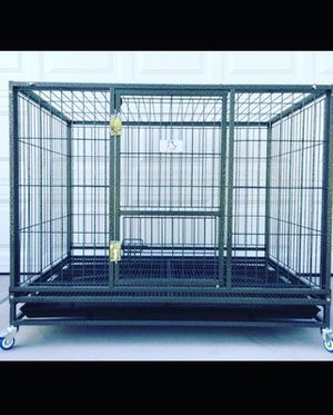 "Heavy duty dog cage kennel size 43"" XL for Sale in San Francisco, CA"