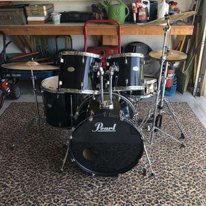 Black pearl forum drum set for Sale in Cape Coral, FL